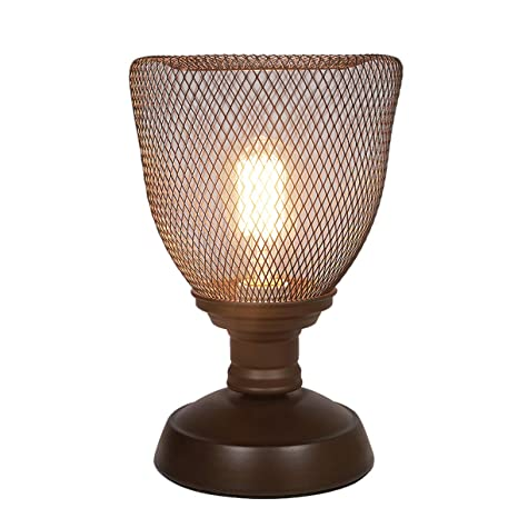 My Canary Vintage Wrought Iron Birdcage Table Lamps Modern Bedside