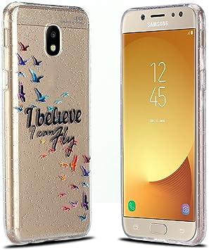 RosyHeart Funda Samsung J5 2017, Carcasa Galaxy J5 2017, Suave TPU ...