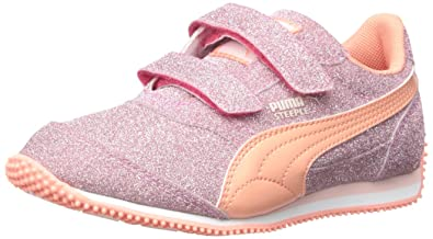 PUMA Steeple Glitz Aog V Kids Sparkle Sneaker (Toddler Little Kid)  a307a1857
