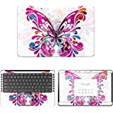 "Decalrus - Protective Decal Butterfly Skin Sticker for Google Pixelbook Go (13.3"" Screen) case Cover wrap GOpixelbkGO_13-50"