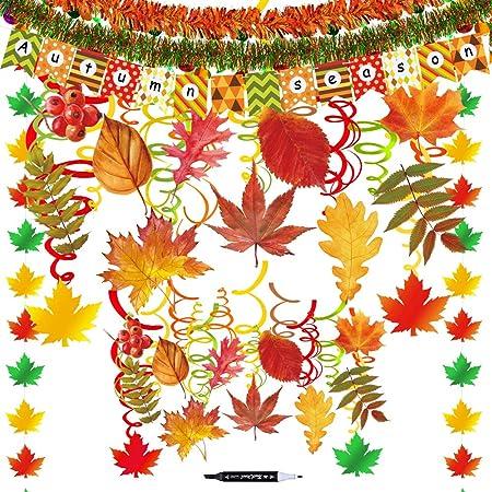 40 Piezas Remolino Colgante de Mariposa de Primavera Colgante de Fiesta de Verano Primavera para Suministros Decoraci/ón de Hogar Aula Baby Shower Cumplea/ños Boda Jard/ín Fiesta Tem/ática de T/é