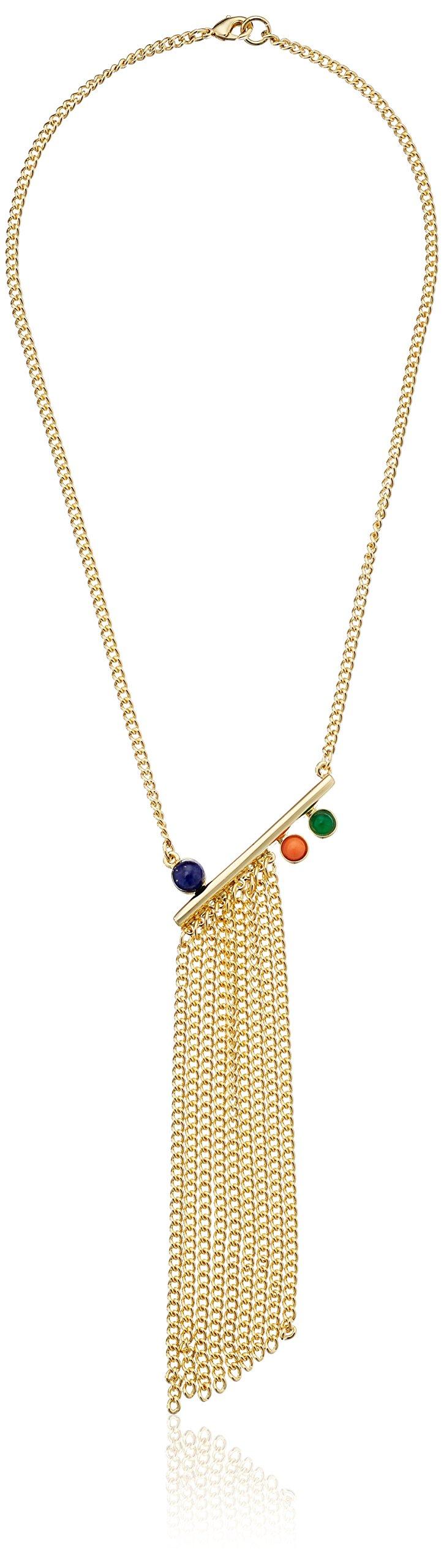 Ben-Amun Jewelry Seville Nights Fringe Y-Shaped Necklace
