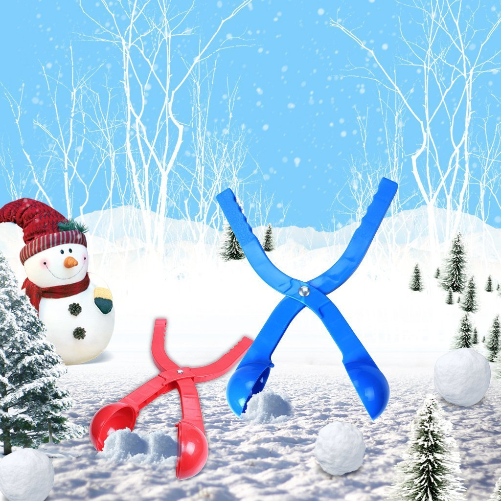 edealing Winter Snowball Maker Toy, Perfect Outdoor Play Snow Toys Kids Red & Blue - 2 Pack (Style 1) by edealing (Image #7)