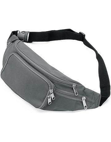 4f6a6978a68e SAVFY Bum Waist Bag 4 Zip Pockets Travel Hiking Outdoor Sport Bum Bag  Holiday Money Hip