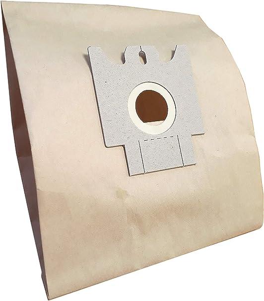Bolsa Aspirador Hoover Telios, Sensory, amigos, H30, H52, h60.- Pochette de 10 bolsas de papel: Amazon.es: Hogar