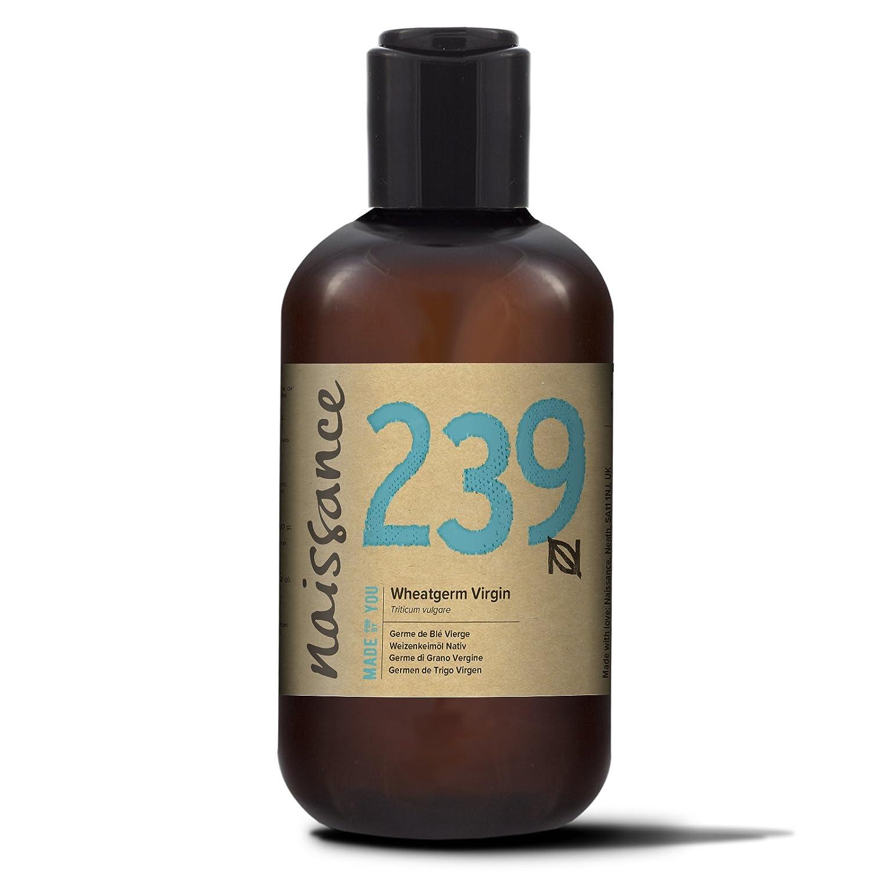 Naissance Aceite Vegetal de Germen de Trigo 250ml - 100% puro, vegano y no OGM
