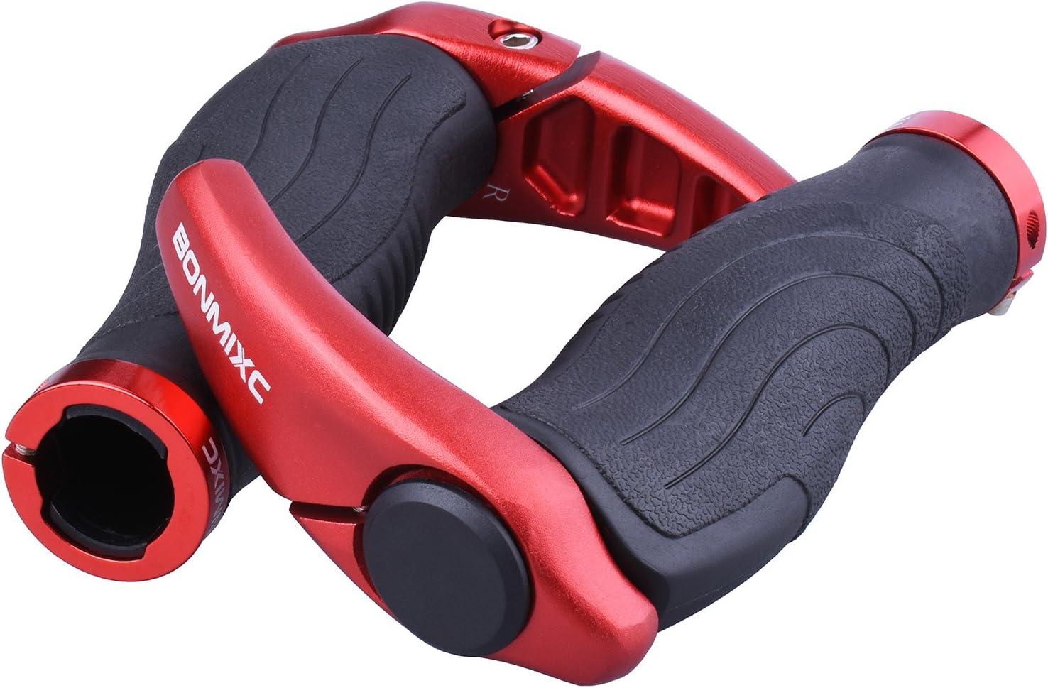 BONMIXC Ergonomic Shock Absorption Mountain Bike Grips