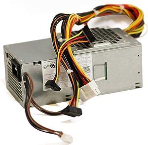 FOR DELL Genuine NEW Dell 250W Power Supply W206D Vostro 200s 220s 260s Inspiron 530S (Renewed)