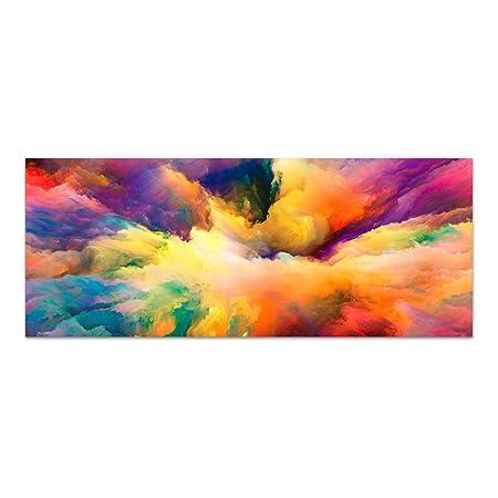 Dekoglas Glasbild Color Explosion Acrylglas Bild Kuche Wandbild