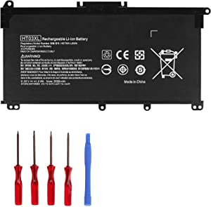 OUSIDE HT03XL Battery Compatible with 14-CE0025TU 14-CE0034TX TPN-I130/I131/I132 Pavilion 15-CD/CS/DA Laptop L11421-422 HSTNN-LB8M 17-AR050WM 920046-121 421 541 920070-855 HSTNN-IB7Y [TF03XL]