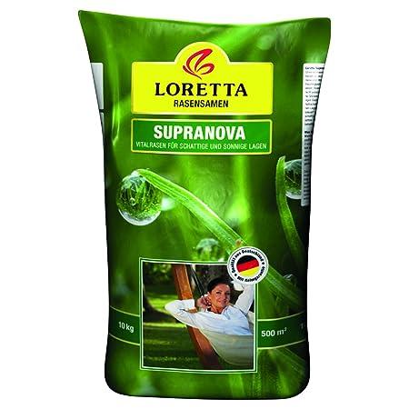Greenfield Rasensamen Loretta Supranova 10 kg, grün
