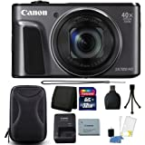Canon PowerShot SX720 HS 20.3MP 40X Optical Zoom Wifi / NFC Enabled Digic 6 Processor Digital Camera Black with 32GB All You Need Bundle
