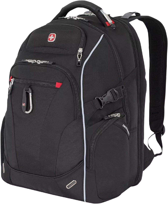 SWISSGEAR SA6752 TSA Friendly ScanSmart Laptop Backpack (Black)