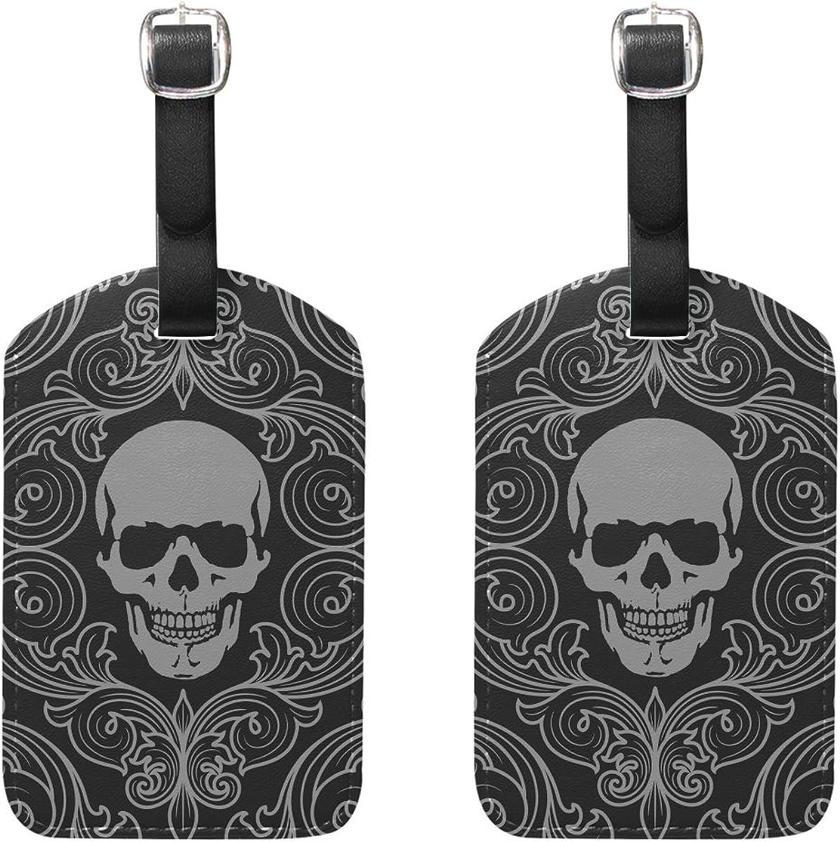 Free-2 Black Girl Magic Luggage Tag 3D Print Leather Travel Bag ID Card