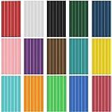 Hot Glue Sticks,90pcs,15 Colors, Mini Glue Gun Sticks, Hot Melt Glue Adhesive Sticks for Glue Gun, DIY Art Craft, 90pcs, 6pcs