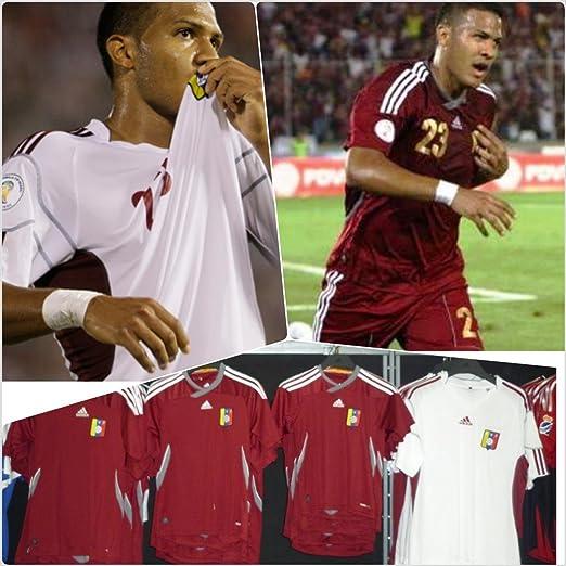 Amazon.com : Adidas Venezuela Home Jersey Camisa De La ...