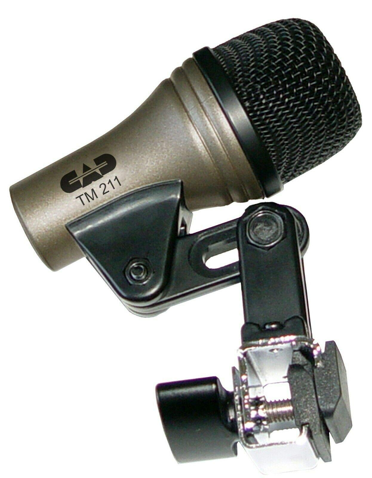 CAD TM211 MIC MICROPHONE FOR TOM FLOOR TOM BONGO CAJON DYNAMIC by CAD