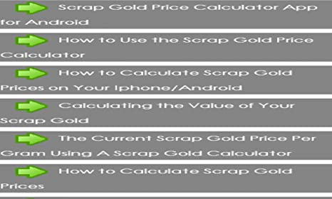 Amazon. Com: gold price calculator: appstore for android.