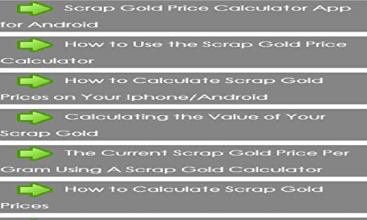 18k gold price per gram | goldvalue. Co.