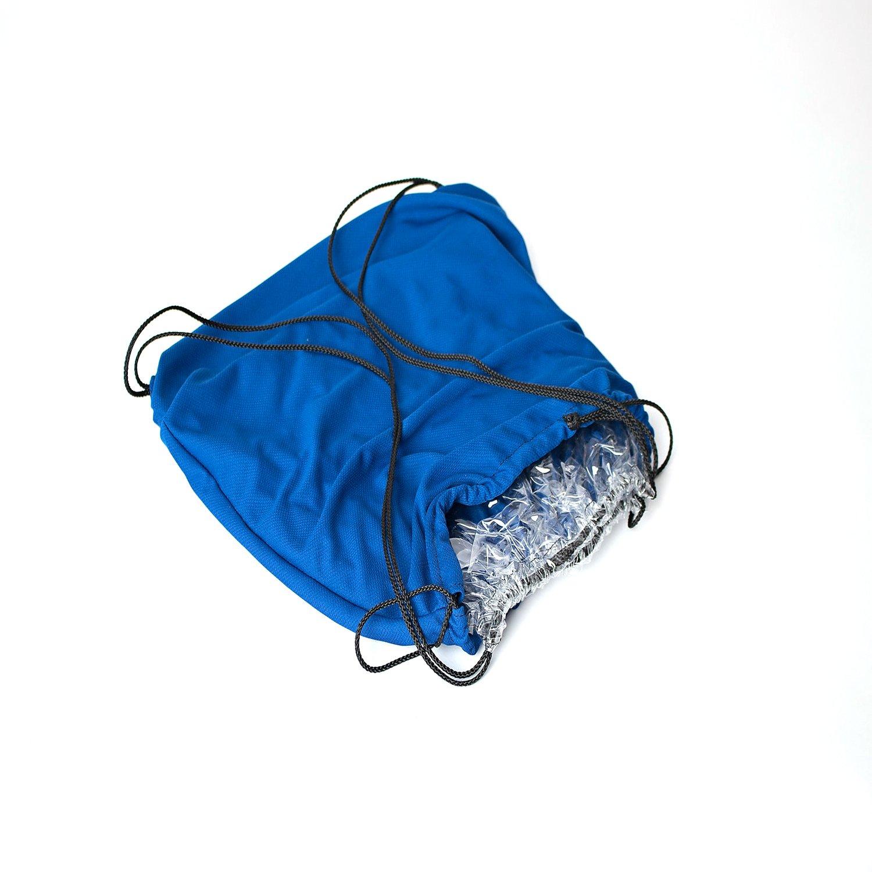 7b43fc3a1aab Amazon.com : QuickLook Cinch Sack Drawstring Backpack - Blue ...
