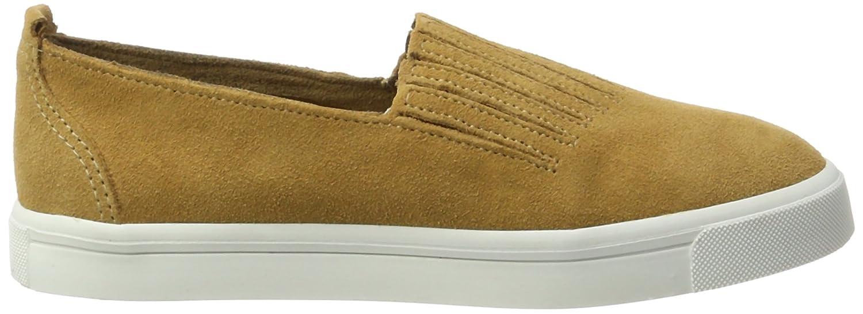 Minnetonka Damen Gabi Slip on Sneaker, Braun (Brown Brown), 39 EU