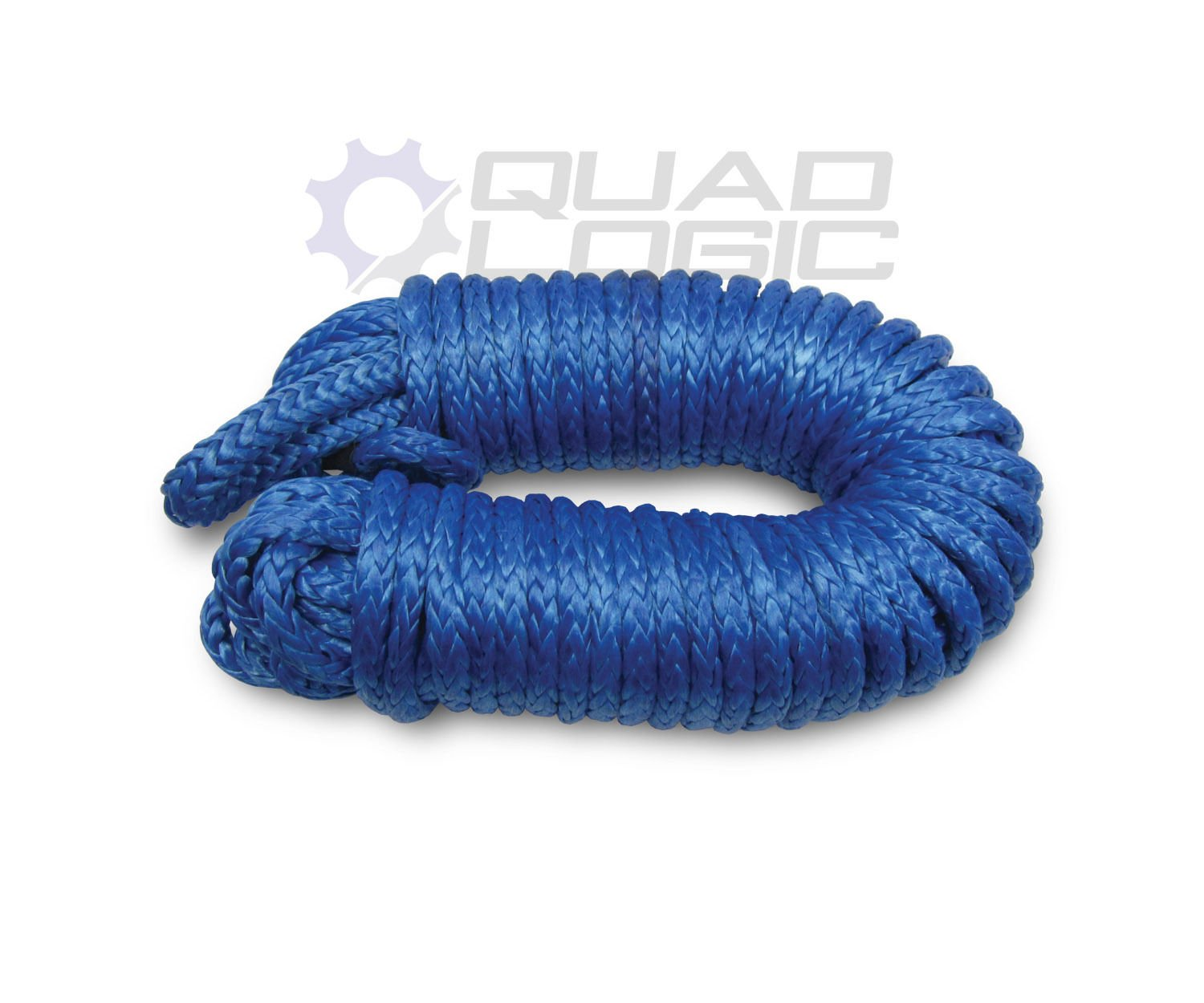 ATV UTV Synthetic Winch Rope Cable (5mm x 50') Superwinch Warn KFI Badland Moose Quad Logic