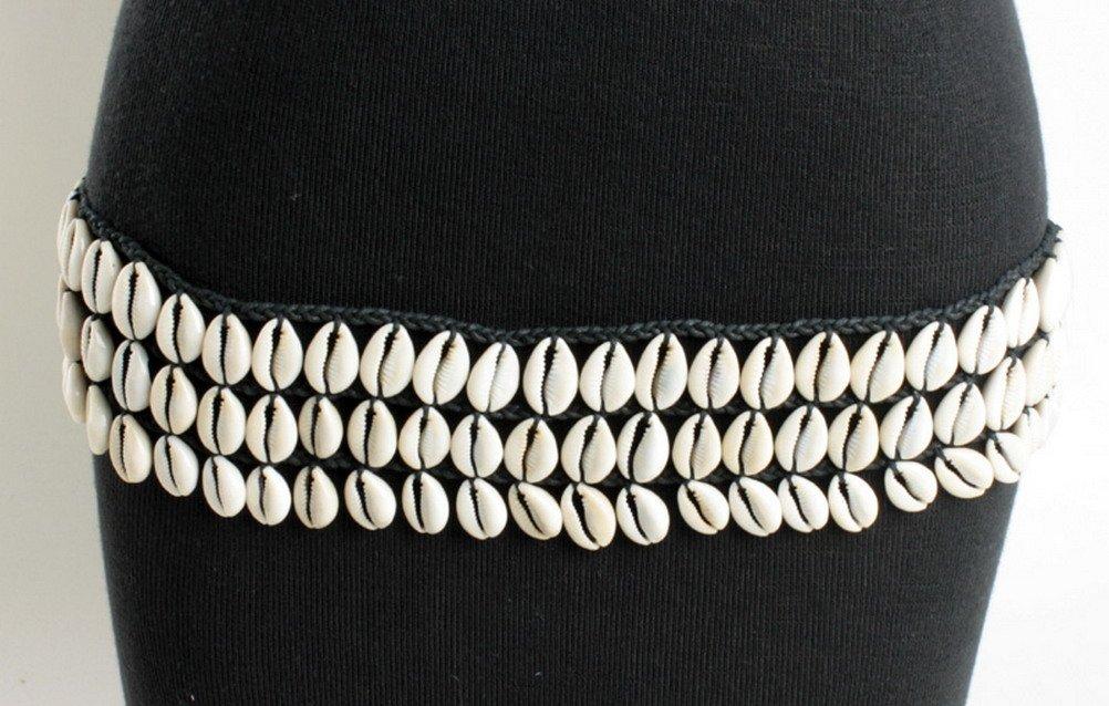 3 Layer Cowry Shell Belt