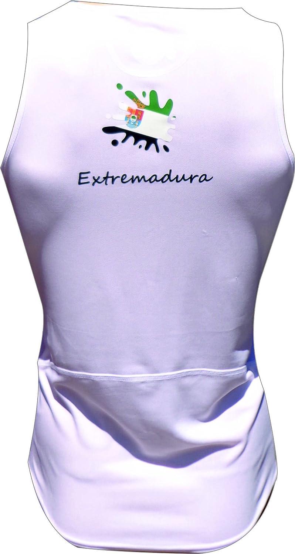 Atletismo y Deportes de Playa. EKEKO Camiseta Extremadura Running