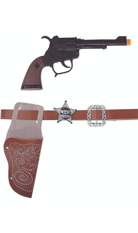Fycar Ceinture Holster Pistolet de Cowboy