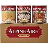 【10年長期保存】アルパインエア 3日間食料セット-S (非常食 10年保存 9食)