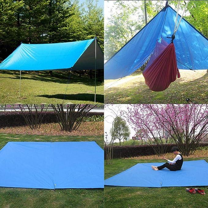 Amazon.com : Kinbelle Outdoor Camping Waterproof Rain Tarp ...