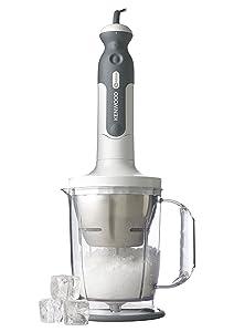 Kenwood 0W22100002 Triblade Hand Blender with Ice Crushing Function, White