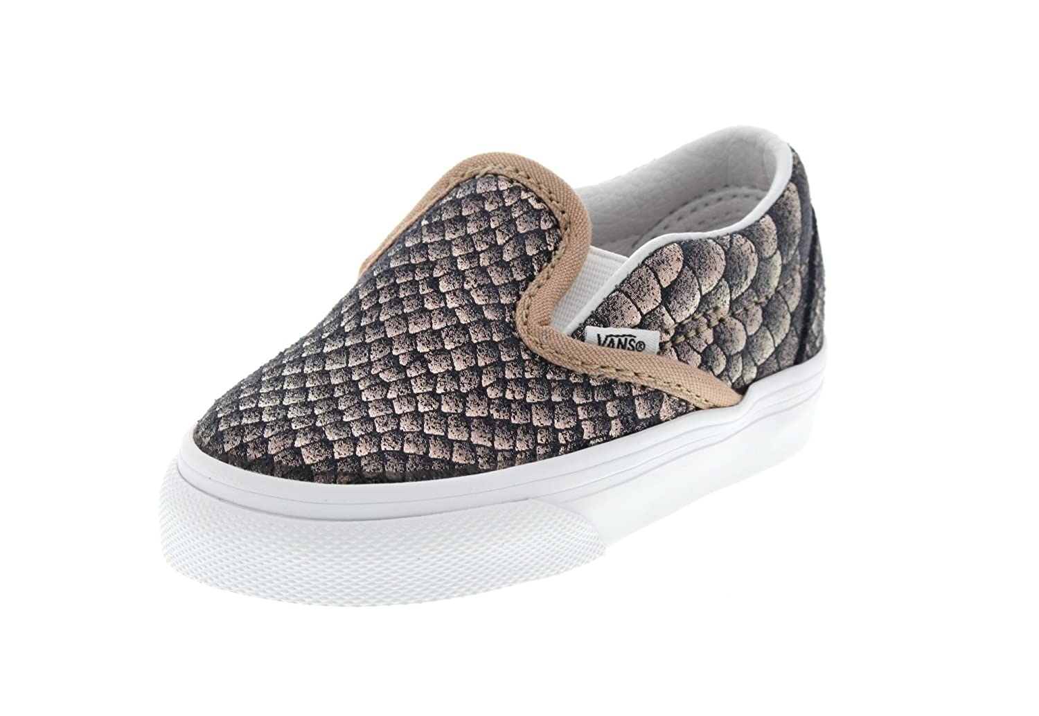 VANS Chaussures Enfants - CLASSIC SLIP ON metallic snake rose