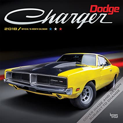 Calendario 2018 coche Dodge Charger coche Americaine - pick ...