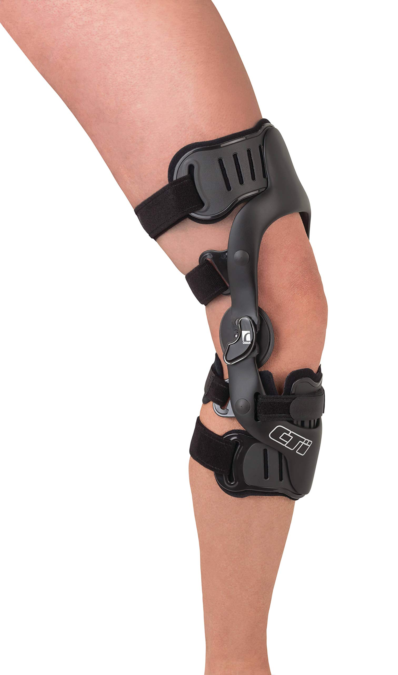 Ossur CTi OTS Knee Brace Standard Version – Maximum Support for ACL, MCL, LCL, PCL, Rotary and Combined Instabilities Injuries – for All Activity Levels (XX-Large, Right, Non PCL)