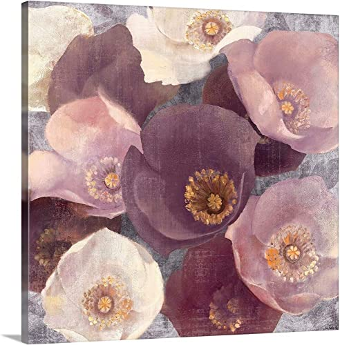Eventide Plum Canvas Wall Art Print
