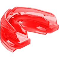 Shock Doctor Double Braces Mouth Guard. Upper and Lower Teeth Protection. Mouthguard No Boil/Instant Fit. for Youth, Teenager, Kids and Adults. Mouth Piece OSFA