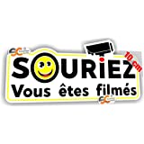 Protection Anti-UV Adh/ésif Souriez Vous Etes Film/és Dimensions 150x210 mm