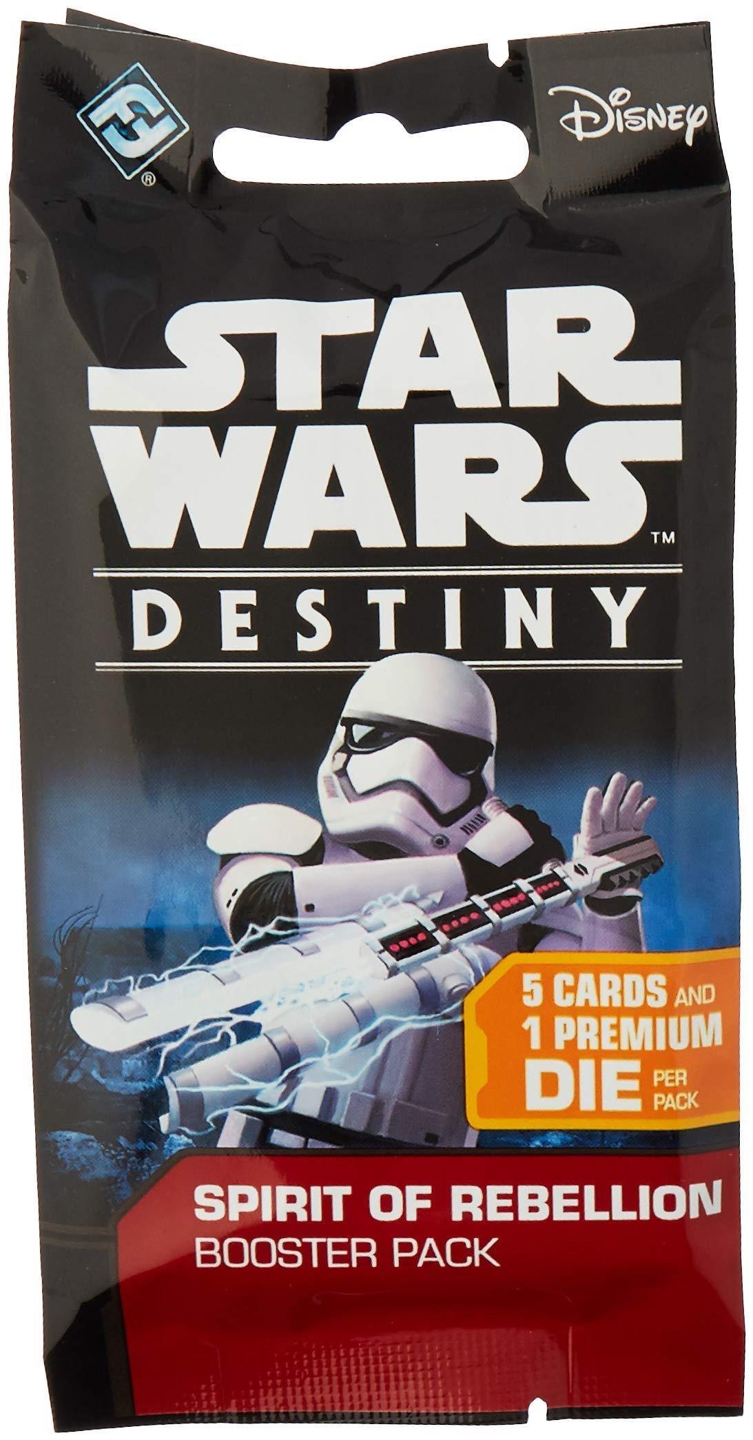 Star Wars Destiny TCG: Spirit Of Rebellion [Dice & Cards] - Booster Box (36 Booster Packs)