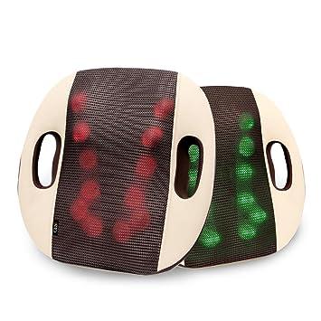 Amazon.com: GESS Almohada de apoyo lumbar para calefacción ...