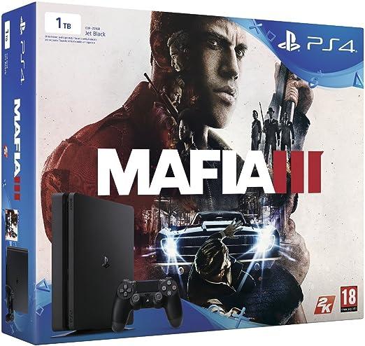 PlayStation 4 Slim (PS4) 1TB - Consola + Mafia 3: Amazon.es: Videojuegos