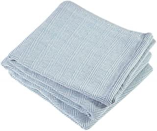 product image for Brahms/Mount Penobscot Blanket | Cotton - Matka - Twin Size