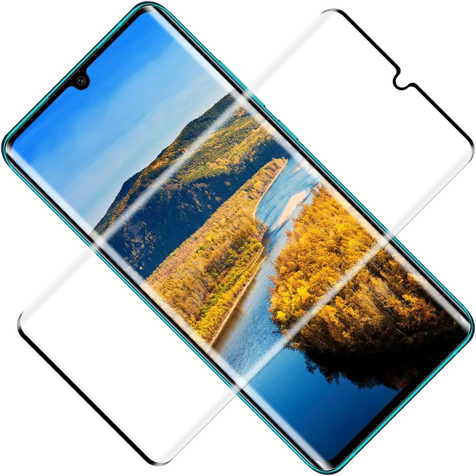 TOCYORIC Protector de Pantalla para Xiaomi Mi Note 10/Note 10 Lite/Note 10 Pro,[3D Curvo Full-Cover] Cristal Templado Mi Note 10, Alta Definicion, Vidrio Templado para Mi Note 10 Pro, 2 Pack