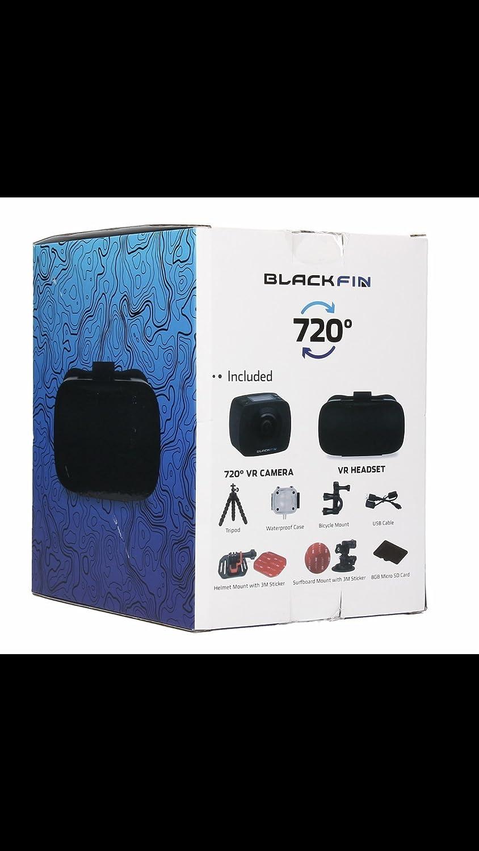 iCatch Blackfin 720 Full Panoramic VR Camera + Headset
