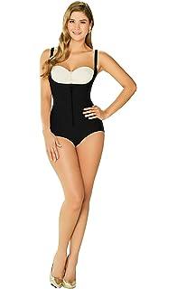 438b8b19ea16 DIANE & GEORDI 2411 Powernet Bodysuit Shapewear for Women with Zipper