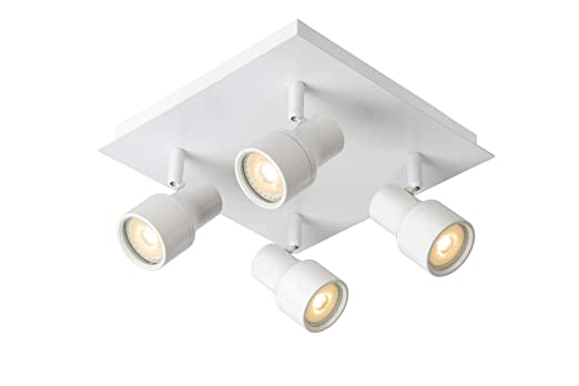 Lucide SIRENE-LED - Deckenstrahler Badezimmer - Ø 10 cm - LED Dim ...