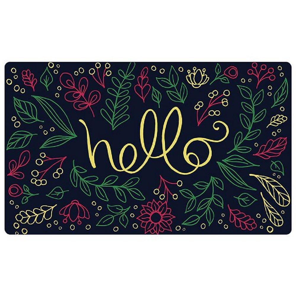 Carson Decorative Doormat-Hello