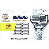Gillette Skinguard Men's Razor Blade Refill, 8 Blade Refills
