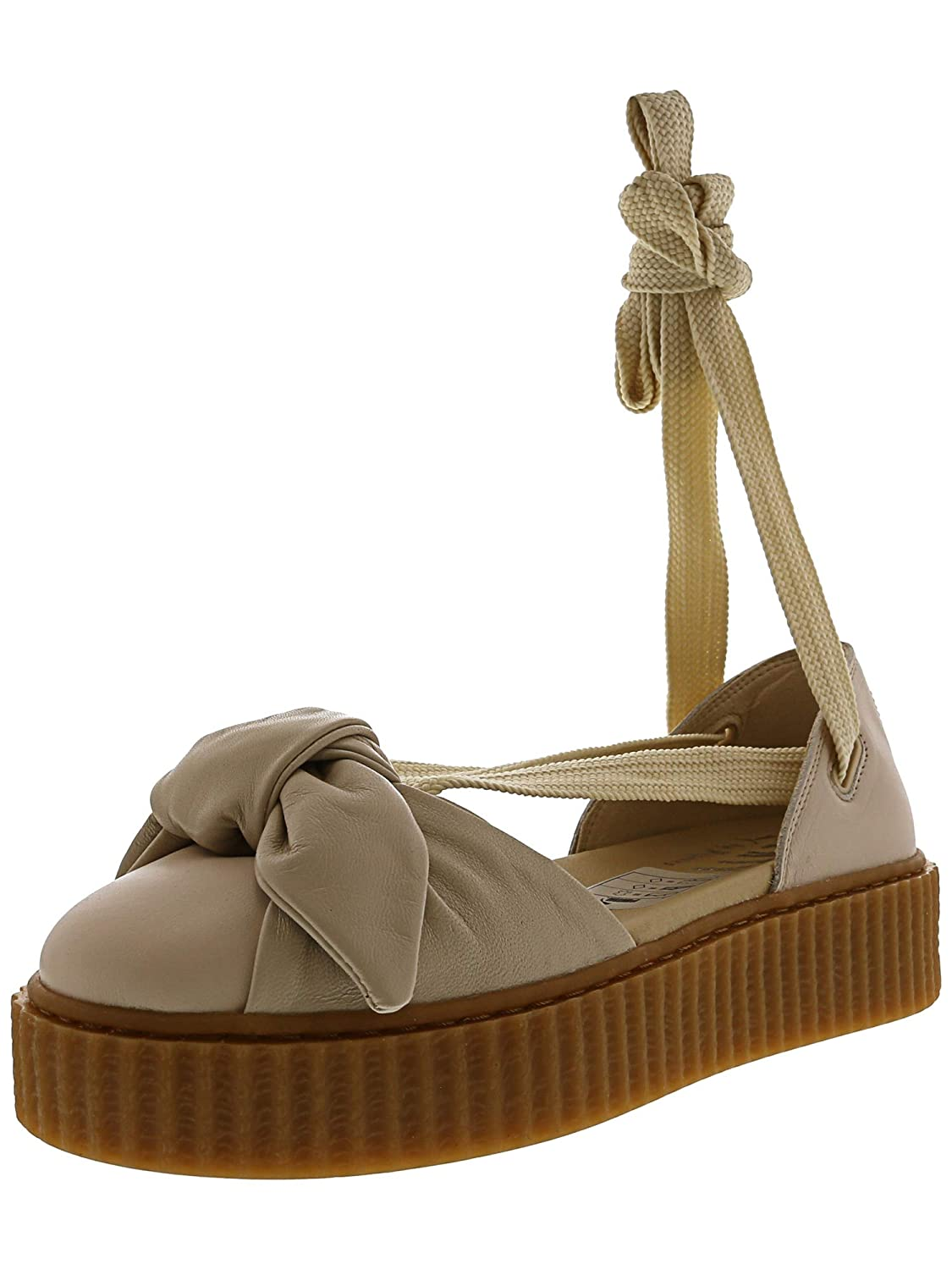 free shipping bec92 befc2 Puma Women's Bow Creeper Sandal Ankle-High Leather: Amazon ...