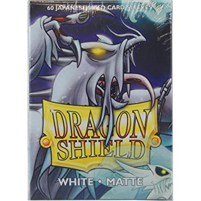 Arcane Tinman Sleeves: Dragon Shield Matte Japanese White (60): Toys & Games